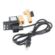 110V Electronic Timed Air Compressor Automatic Drain Valve With Power Cable