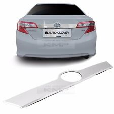 Chrome Rear Trunk Garnish Molding Cover TiM C761 for TOYOTA 2012-2014 Camry