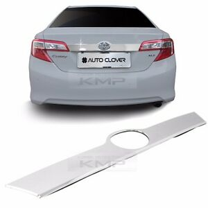 Chrome Rear Trunk Garnish Molding Cover Trim C761 for TOYOTA 2012 - 2014 Camry