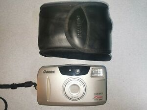 CANON SURE SHOT FILM CAMERA with 76mm ZOOM LENS POINT & SHOOT -FREE POSTAGE