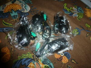 HP PS/2 OptiC Scroll Wheel 3 Button Mouse 672651-001 674315  LOT OF 4 NEW
