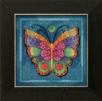 MILL HILL - LAUREL BURCH Counted Cross Stitch Kit BUTTERFLY CAPRI LB14-1914