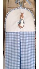 Peter Rabbit Nappy Stacker In Blue Shades free p&p