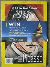 National Geographic May 2018 Maria Balshaw Pablo Picasso Polynesia Sharks Muslim