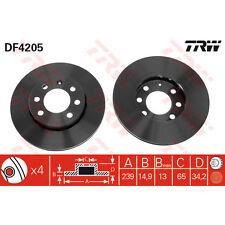 Bremsscheibe, 1 Stück TRW DF4205