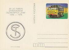 Poland prepaid postcard (Cp 707) motorization STAR truck