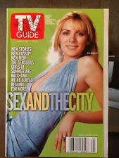 TV GUIDE Magazine 2000 June 17-23 Sex and the City Kim Cattrell