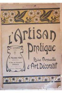 Nicolas Aîné - L' Artisan Pratique 108