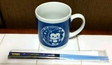 SEGA Sonic The Hedgehog Mug & Chopsticks 25th Anniversary Novelty Super Rare