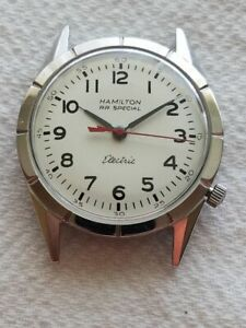 Selling Used Vintage Hamilton Electric RR Special Wrist Watch in a SS Case......