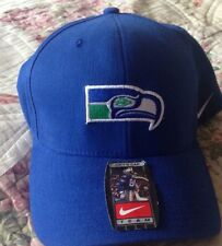Vintage Throwback Retro NFL Seattle Seahawks Nike Hat Cap One Size NWT