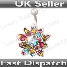 Flower Belly Bar - UK Seller - Fast and Free Shipping!