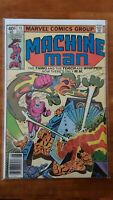 Machine Man 15 Thing And Torch Are Whipped Marvel High Grade Comic Book RM9-140