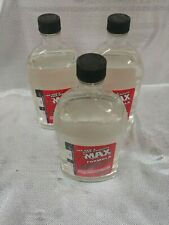 (3) 32oz zmax lubricant cleaner fuel additive z max transmission steering gas