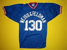 Vintage Football Jersey 130 Rare Unique 80s 90s Throwback Weiss & Feldman