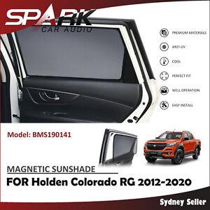 MAGNETIC CAR WINDOW SUN SHADE BLIND REAR DOOR FOR HOLDEN COLORADO 2012-2020 CT