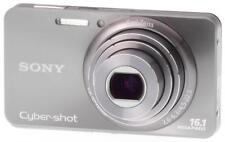 MINT Sony Cyber-shot Carl Zeiss Lens 16.1MP Digital Still Camera Silver DSC-W570