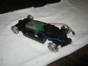 Used Vintage Strombecker 1/32 Scale Slot Car Chassis with Mag Wheels (see pics)