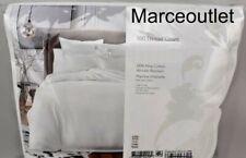 Sky 500 Thread Count Pima Cotton King Duvet Cover & Shams Set White