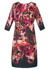 POMODORO ROSE PRINT SHIFT DRESS SIZE 10 BNWT RRP £70.00