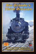 Rio Grande's Third Division DVD NEW Greg Scholl Gunnison Line Monarch Branch