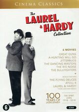 The Laurel & Hardy Collection : 6 Movies + Bonus Features (8 DVD)