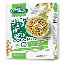 Orgran Sugar Free Matcha and Coconut Cereal 200 g - Pack of 5