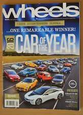 Wheels Feb 2016 Peugeot 308 R Hybrid, Ford Everest Trend, Toyota Prado GX