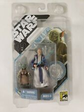 2007 SDCC Star Wars 30th Anniversary 3.75'' OBI-WAN & YODA Signature Series New