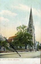 ST. MARKS CHURCH HORSHAM WEST SUSSEX  POSTCARD