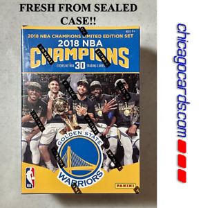2017-18 NBA Champions Golden State Warriors Limited Edition Team Set Sealed NEW