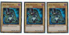 3 x Dark Magician LC01-EN005, Limited Edition, Ultra Rare, Playset