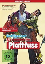 Bud Spencer - Sie nannten ihn Plattfuß (Remastered Version) DVD