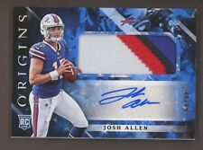 2018 Panini Origins Blue Josh Allen RPA RC 4-Color Patch AUTO 48/49