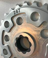 HUTCH 26T chain wheel silver new