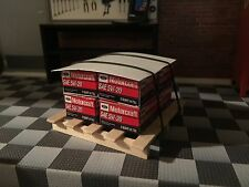 1/18 Diorama Motorcraft Oil Set With pallet For Parts Display Made By A608..,