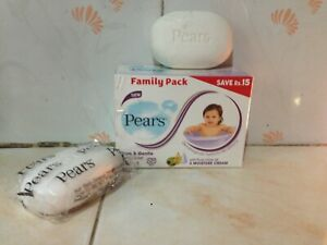Pears Baby Soaps Family Pack PURE & GENTLE OLIVE OIL & moisture cream 4Psc  95g