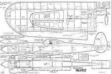 """Mars par Bob Palmer ligne de contrôle Stunt 49"""" Span plan"""