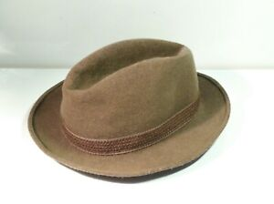 Vintage 1960s Ladies Felt Hat Size Small
