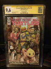 Teenage Mutant Ninja Turtles #101 1:10 Variant CGC 9.6 First Lita & Mona Lisa