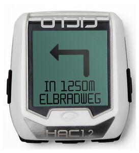 Ciclosport HAC 1.2 Fahrradcomputer GPS Radtacho Fitnessfunktion Fahrradnavi App