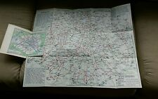 Nouveau Plan Paris France Metro Autobus Auto Bus Banlieue L'Indispensable Map