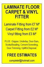 LAMINATE FLOOR, CARPET & VINYL FITTER. Somerset & Bristol + AMTICO & KARNDEAN