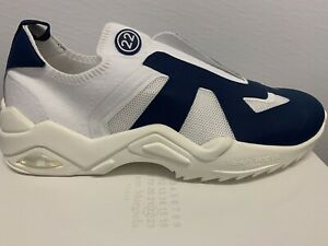 Maison Margiela Mens Lowtop Blue White Sneakers Size 13