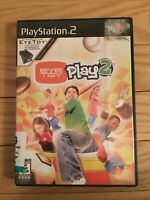 EYE TOY PLAY 2 - PS2 - NO MANUAL - FREE S/H - (N)