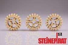 LEGO® 3x 32269 (-NEU-) Zahnrad 20 Zähne / Getriebe /  Zahnräder beige / 6084724