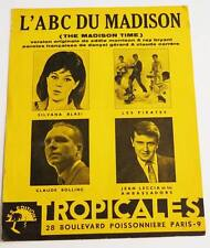Partition sheet music LES PIRATES / JEAN LECCIA / CLAUDE BOLLING * 60's