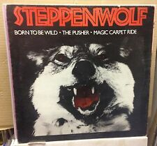 "STEPPENWOLF Born To Be Wild  UK 3-track 12"" Vinyl Single EXCELLENT CONDITION"