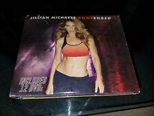 Jillian Michaels Bodyshred Body Shred 12 Dvd Exercise Diet Missing One disc