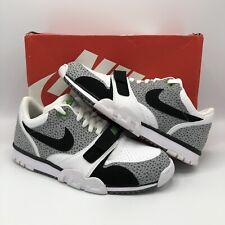 Nike Air Trainer 1 Low ST Grey White Safari Cement Size 11 637995 100 Jordan Bo
